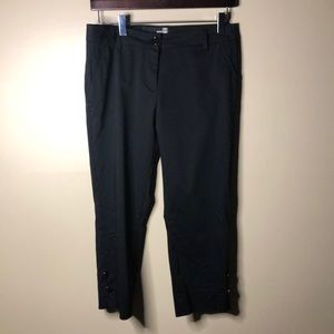 Love moschino black Capri pants